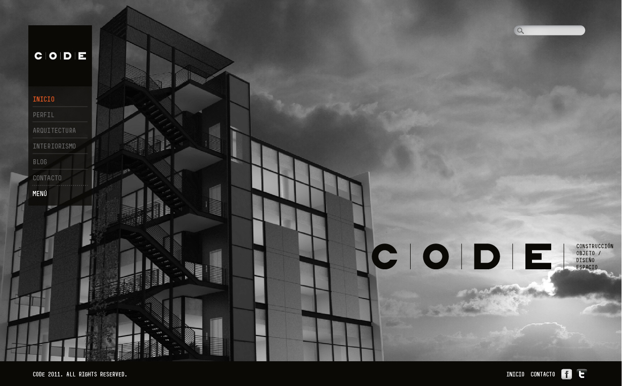 Codebur creativo bur creativo for Portafolio arquitectura